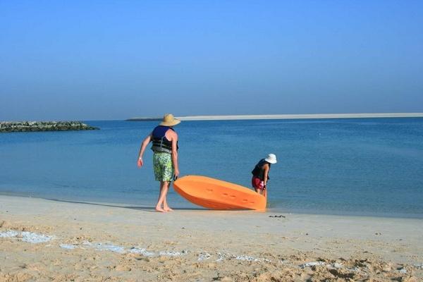 On the beach by madhujitha