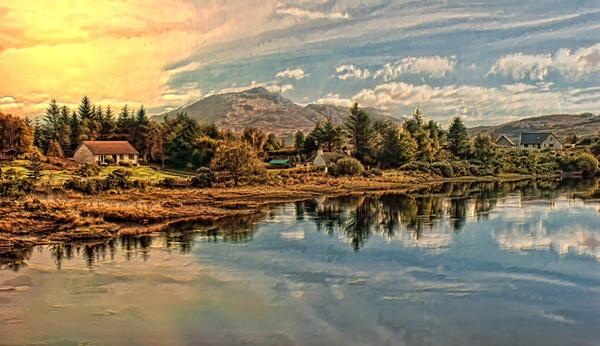 Scottish morning by samoyed