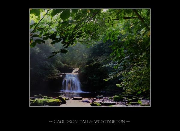 Cauldron Falls West Burton by craggwildlifephotography