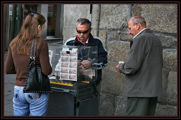 Street Corner Lottery by fentiger