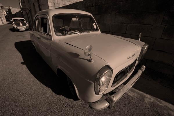 Old Cars-Gozo