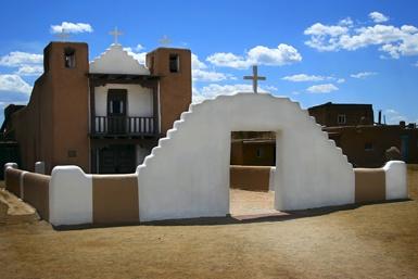 Taos Pueblo New Mexico by BHSDallas
