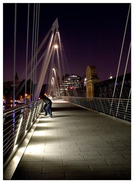 Charing Cross Bridge by sidcollins