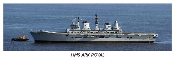 HMS Ark Royal by trekpete