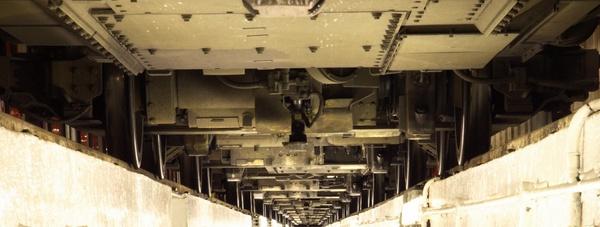 under the underground train by eamesjones