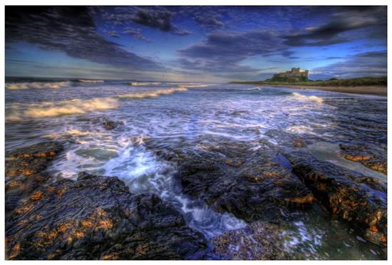 Bamburgh Beach by AidanT