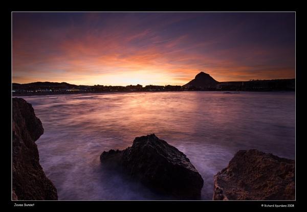 Javea Sunset by Richsr
