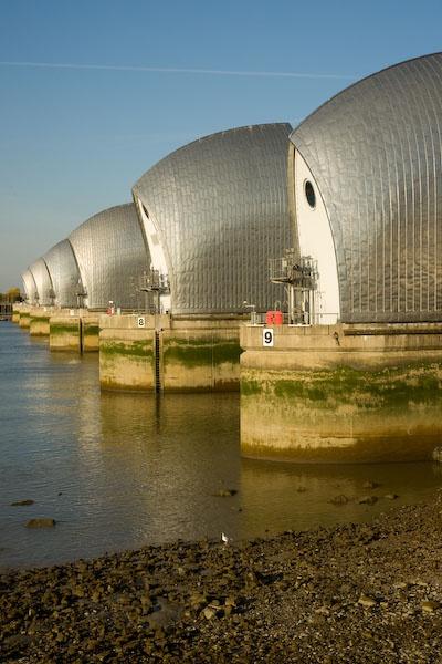 Thames Barrier by RSaraiva
