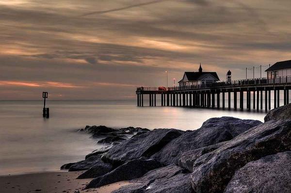 Southwold Pier by Plossl