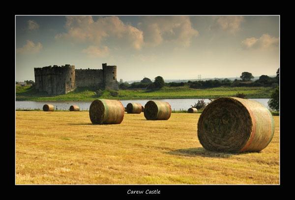 Carew Castle by jer
