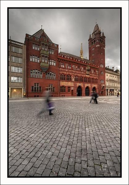 Basel Rathaus by DigitalConvert