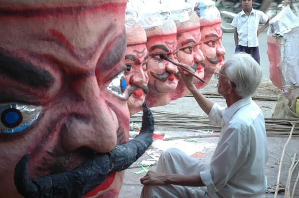 making of ravana by sunayana