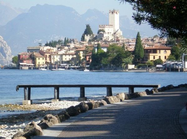 Malchesine Lake Garda by Billyray