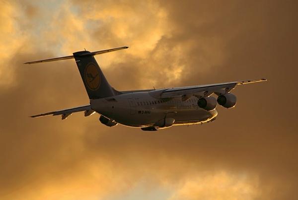 Evening departure by piotro