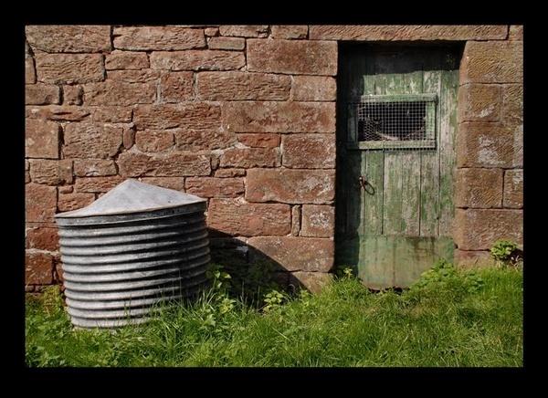 Farm door. by jdenman