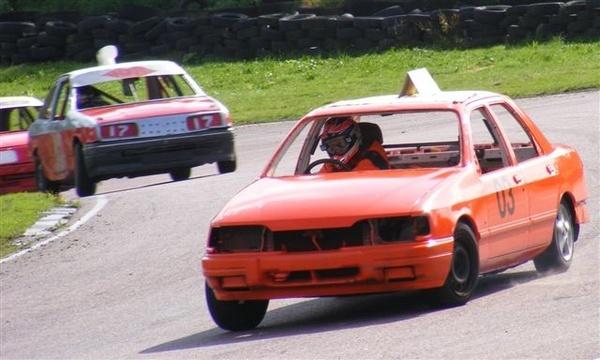 Banger racing Lydden hill by racephotographer