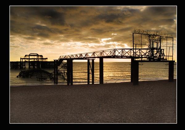 Brighton West Pier 2 by colin63