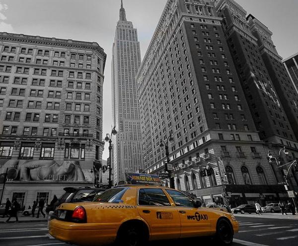 yellow cab by Rorymac
