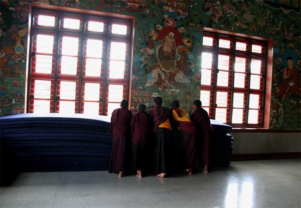 Monks by gauthamwaits