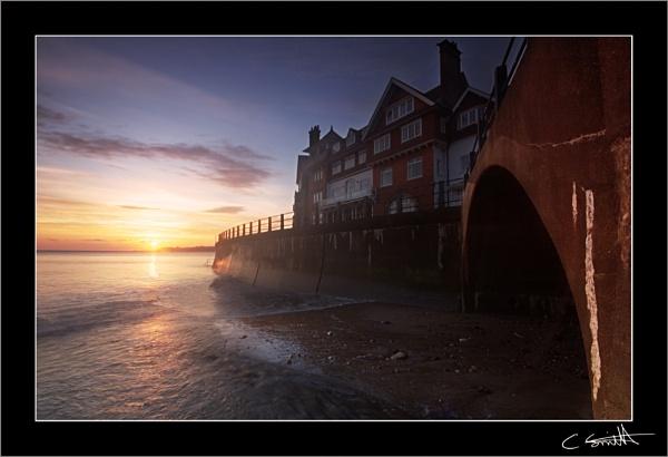 Sandsend dawn by ChristopherSmith