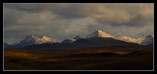 Torridon Snow by AliMurray