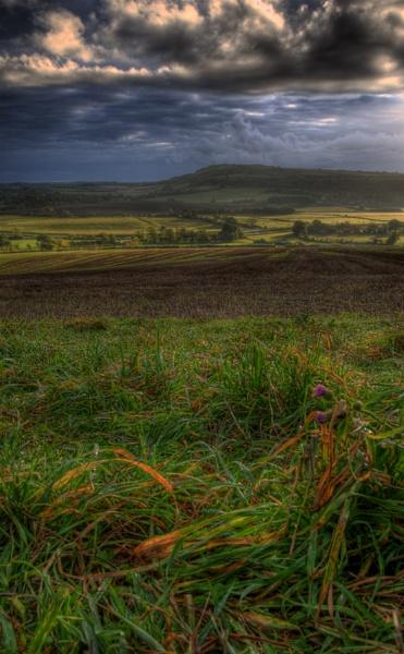 Sunrise over Amberley by Serkta