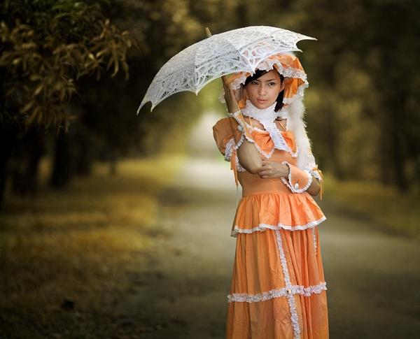 Enchanting Orange by rolandiapari