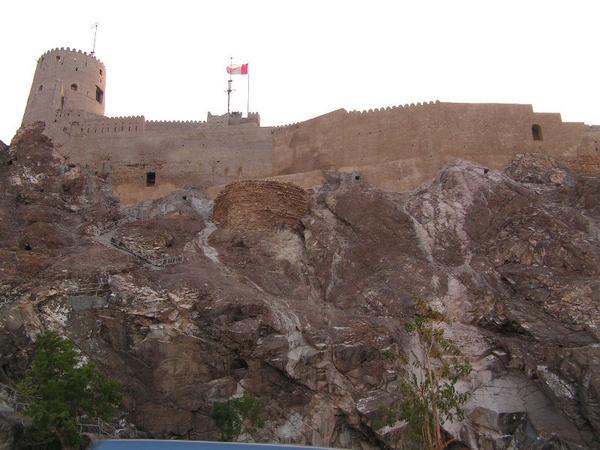 Mutrah Fort - Oman by carylofarabia