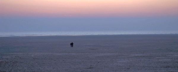 BEACH WALK by Heatherj