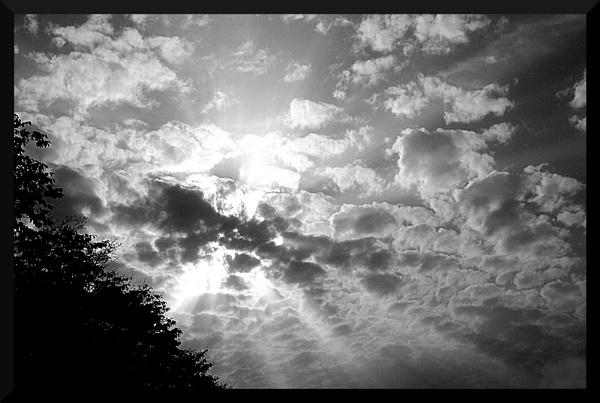 Partially cloudy by Koert