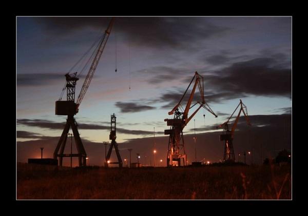Belfast docks by chunky1972