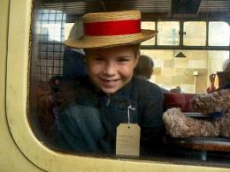 Lucys adventure on the train