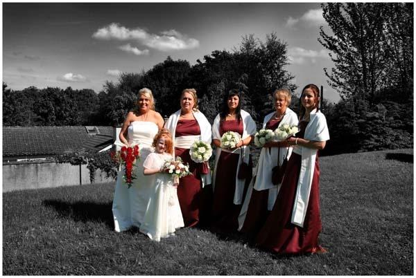 wedding shot by frink