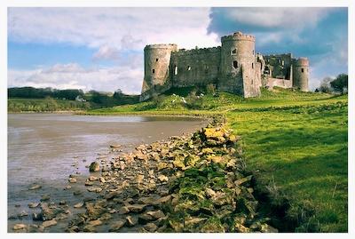 Caraw Castle by edavid