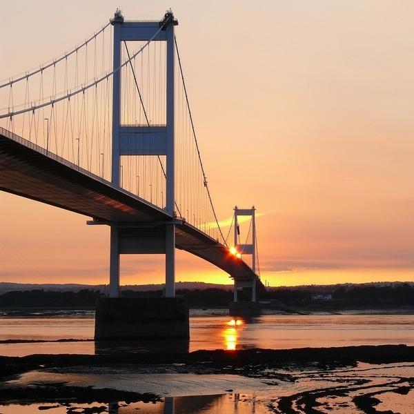Sunset across the Severn Estuary by gonedigital62