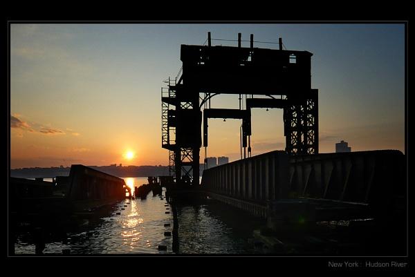 Hudson Sunset by Brewster