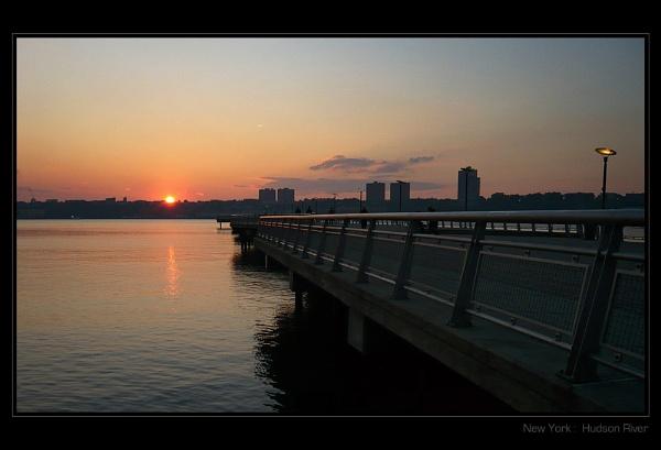 Hudson Sunset II by Brewster