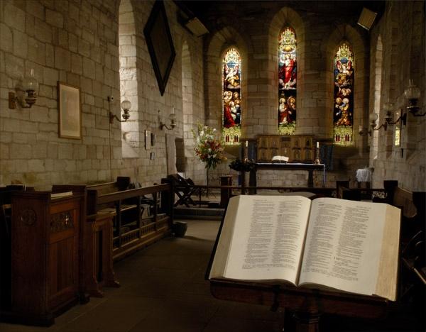 St Mary\'s Church, Lindisfarne by keithknight