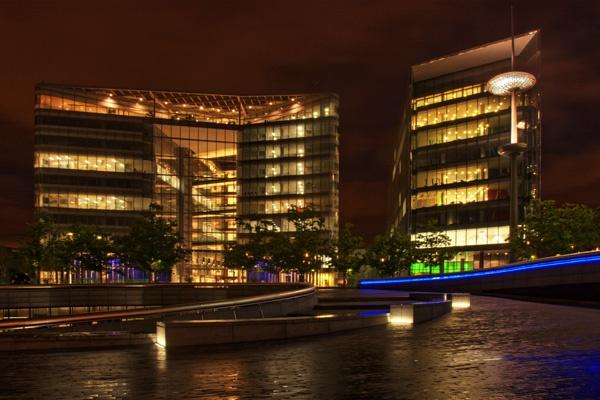 Luminous Building II by EeeZeeLee