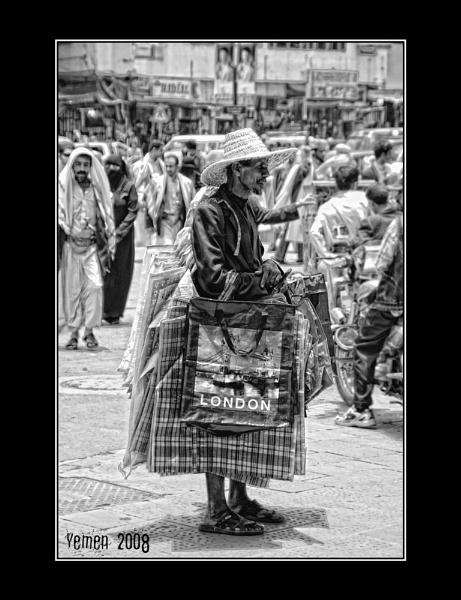 Londoner in Yemen by MorneR