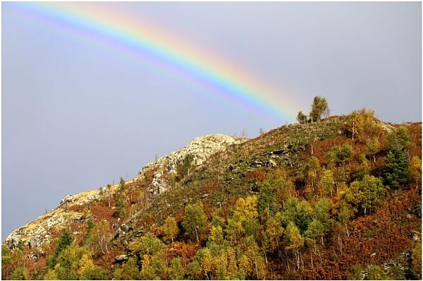 Autumn Rainbow by Ian Hunter