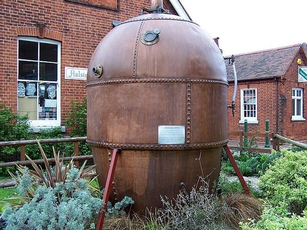 an old boiler by bracerbill