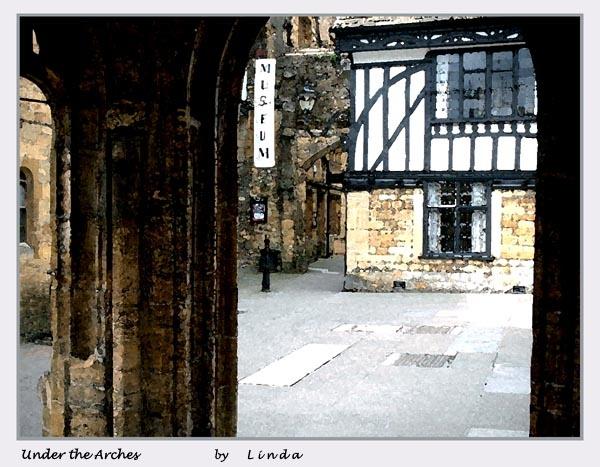 Under the arches by Mynett