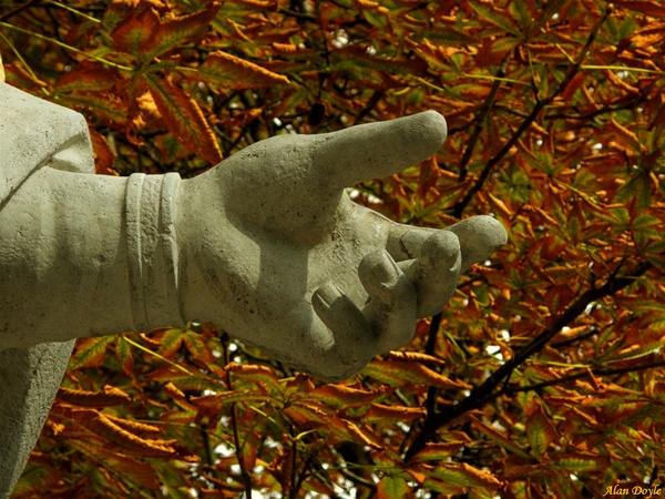 Stone Handshake by Alan86