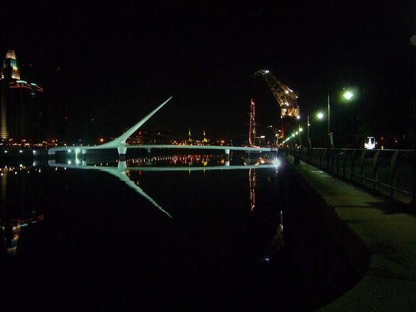 Puente de la Mujer Buenos Aires by billcresswell