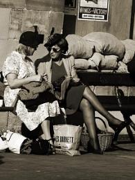 it's knit one purl one dear