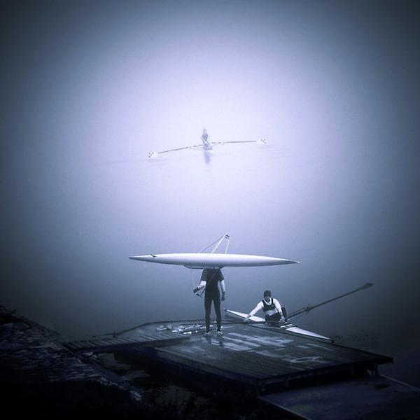 Rowers by Silvijo
