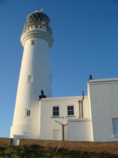 Flamborough lighthouse by eraina