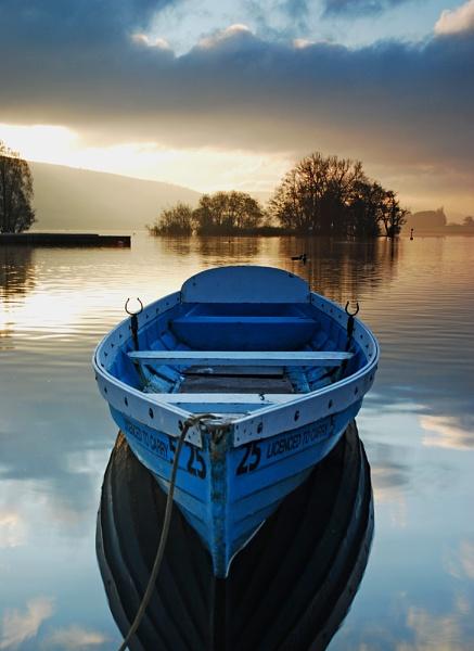 Sky Blue Boat. by Buffalo_Tom