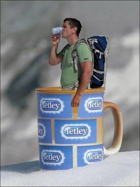 always good Tetley tea by joze